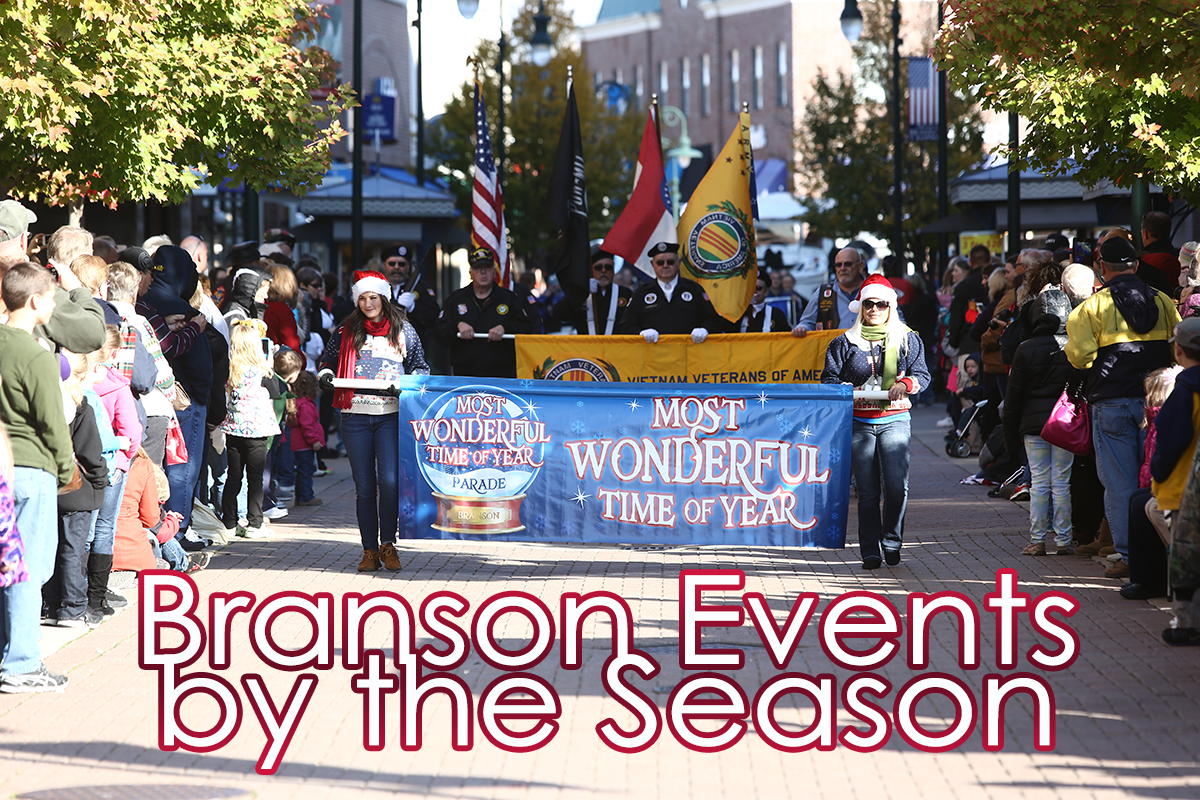Branson Events by the Season