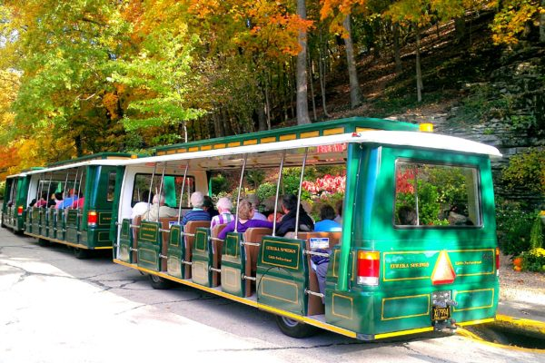 Tram Tour at Grotto Spring Oct 2012